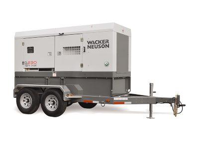 200KW Towable Generator